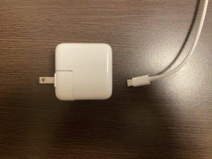 MacBook Air(2020)の充電ケーブル